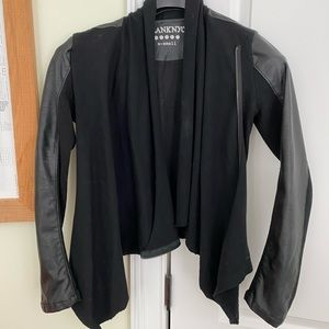 Blank NYC imitation leather jacket